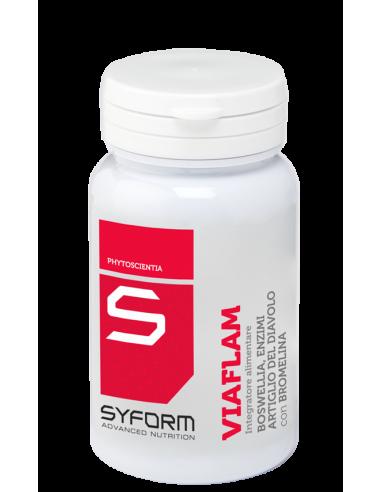 Συμπλήρωμα διατροφής SYFORM Viaflam - 30 κάψουλες Vegi, 750mg