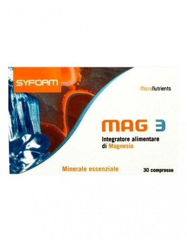 SYFORM MAG3 - 30 ταμπλέτες, 1250 mg