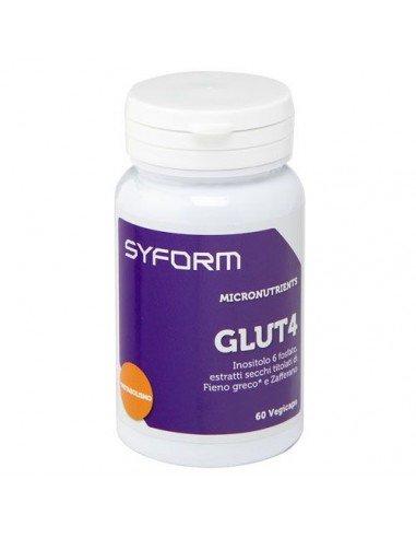 Συμπλήρωμα διατροφής SYFORM Glut4 - 60 κάψουλες Vegi, 935mg